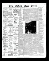 Acton Free Press (Acton, ON), December 25, 1901