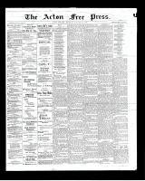 Acton Free Press (Acton, ON)16 Jan 1902