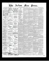 Acton Free Press (Acton, ON)23 Jan 1902