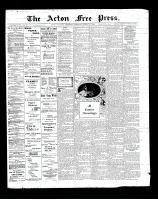 Acton Free Press (Acton, ON)27 Mar 1902
