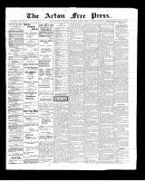 Acton Free Press (Acton, ON)3 Apr 1902