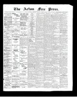 Acton Free Press (Acton, ON)24 Apr 1902