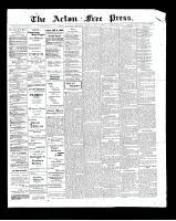 Acton Free Press (Acton, ON)8 May 1902