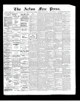Acton Free Press (Acton, ON)29 May 1902