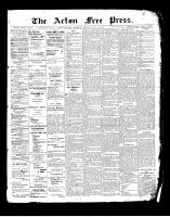 Acton Free Press (Acton, ON)17 Jul 1902