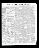 Acton Free Press (Acton, ON)11 Sep 1902