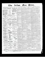 Acton Free Press (Acton, ON)18 Sep 1902