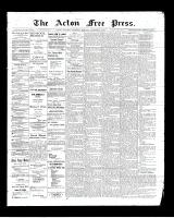 Acton Free Press (Acton, ON)9 Oct 1902