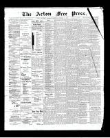 Acton Free Press (Acton, ON)16 Oct 1902