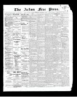 Acton Free Press (Acton, ON)27 Nov 1902