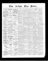 Acton Free Press (Acton, ON)11 Dec 1902