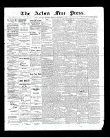 Acton Free Press (Acton, ON)18 Dec 1902
