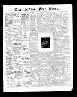 Acton Free Press (Acton, ON)25 Dec 1902