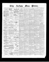Acton Free Press (Acton, ON)1 Jan 1903