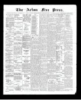 Acton Free Press (Acton, ON)26 Feb 1903