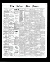 Acton Free Press (Acton, ON)5 Mar 1903