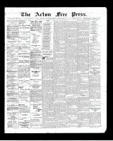 Acton Free Press (Acton, ON)19 Mar 1903