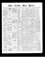 Acton Free Press (Acton, ON)23 Apr 1903