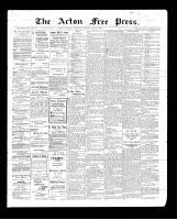 Acton Free Press (Acton, ON)7 May 1903