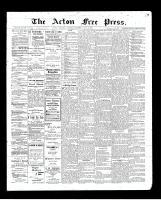Acton Free Press (Acton, ON)28 May 1903