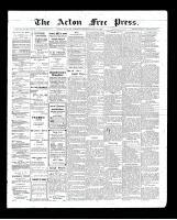 Acton Free Press (Acton, ON)11 Jun 1903