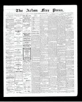 Acton Free Press (Acton, ON)25 Jun 1903