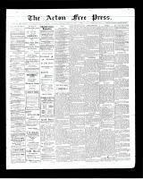 Acton Free Press (Acton, ON)9 Jul 1903