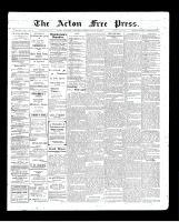 Acton Free Press (Acton, ON), July 23, 1903