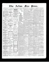 Acton Free Press (Acton, ON), July 30, 1903
