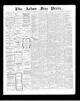 Acton Free Press (Acton, ON), August 27, 1903