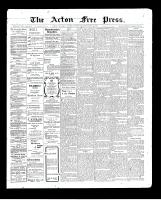 Acton Free Press (Acton, ON), September 3, 1903