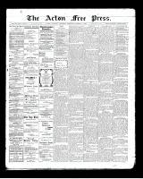 Acton Free Press (Acton, ON), October 1, 1903