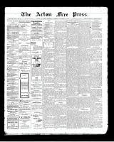 Acton Free Press (Acton, ON), October 8, 1903