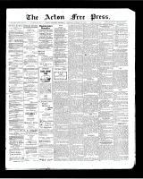 Acton Free Press (Acton, ON), October 22, 1903