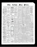Acton Free Press (Acton, ON), October 29, 1903