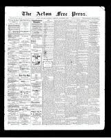 Acton Free Press (Acton, ON)5 Nov 1903