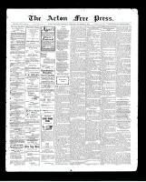 Acton Free Press (Acton, ON)12 Nov 1903