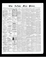 Acton Free Press (Acton, ON)10 Dec 1903