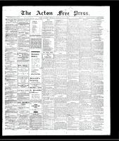 Acton Free Press (Acton, ON), January 3, 1907