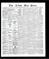 Acton Free Press (Acton, ON), January 10, 1907
