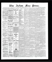 Acton Free Press (Acton, ON)17 Jan 1907