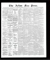 Acton Free Press (Acton, ON)24 Jan 1907
