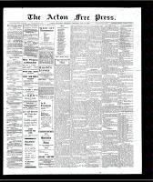 Acton Free Press (Acton, ON)31 Jan 1907