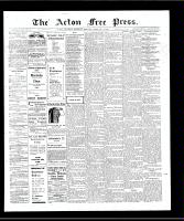Acton Free Press (Acton, ON)7 Feb 1907