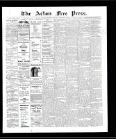 Acton Free Press (Acton, ON)14 Feb 1907