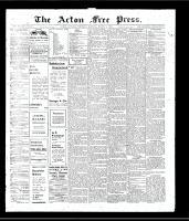 Acton Free Press (Acton, ON)7 Mar 1907