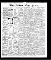 Acton Free Press (Acton, ON)14 Mar 1907
