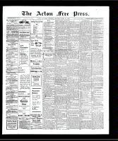 Acton Free Press (Acton, ON)18 Apr 1907