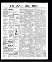 Acton Free Press (Acton, ON)9 May 1907