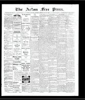 Acton Free Press (Acton, ON)23 May 1907